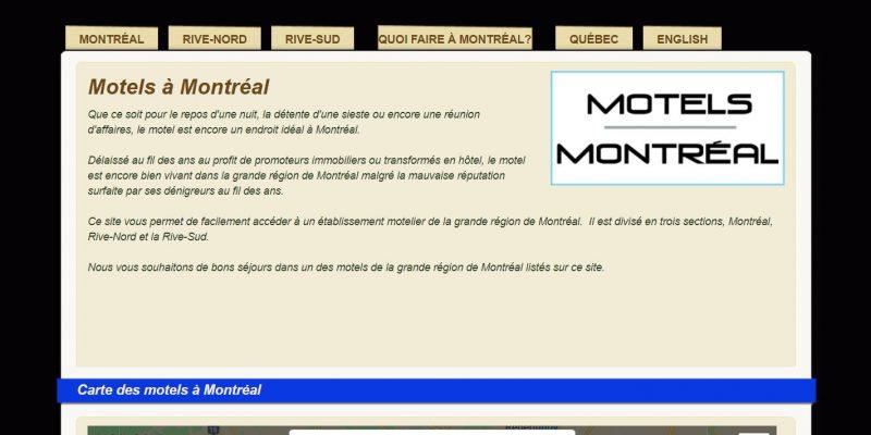 Motels à Montréal